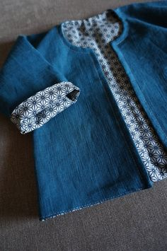 100% linen jacket by LAtelierduBibi on Etsy