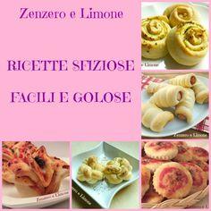 RICETTE SFIZIOSE E GOLOSE | raccolta in pdf | Zenzero e Limone
