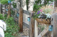 diy garden decor | Mason Jar Solar Light DIY