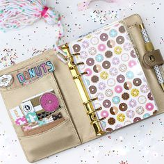 Dress up your planner with a gorgeous unique dashboard! Add sticky notes, to do lists, paper clips, stickers or leave as is to add a splash of
