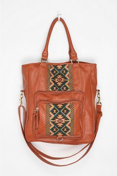 Ecote Pattern-Block Tote Bag I can see myself walking around downtown Portland with this