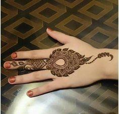 Ring Mehendi design
