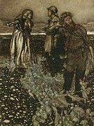 "New artwork for sale! - "" Widowwhitson by Arthur Rackham "" - http://ift.tt/2paePBU"