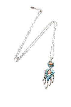 Esprit - Lang halskæde m. vedhæng i Esprits Online-Shop