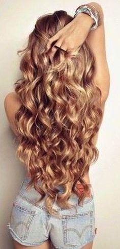 Blond + Curls