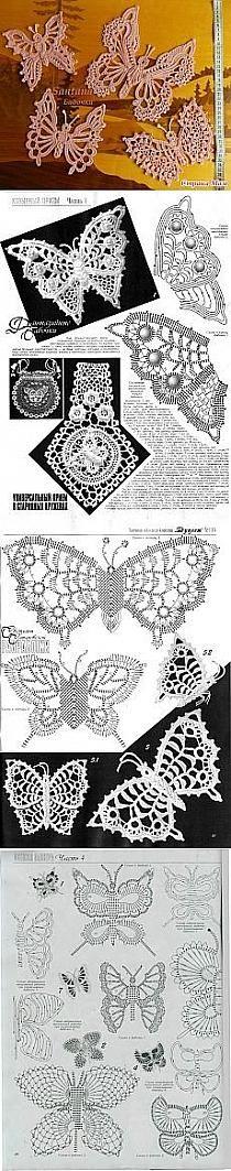 Irish crochet lace motifs patterns More More Mais Crochet Vintage, Crochet Art, Thread Crochet, Crochet Motif, Crochet Crafts, Crochet Doilies, Crochet Stitches, Freeform Crochet, Irish Crochet Patterns