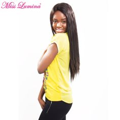 Miss Lumina Peruvian Straight Hair Bundles Nature Color Soft Remy 100% Human Hair Weaving 10-28 Inches Free Shipping