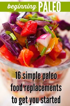 Beginning Paleo: 16 simple food replacements for breakfast, lunch, and dinner | Tipsaholic.com #paleo #tips