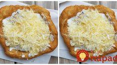 Bombastické langoše bez vajíčka: Jediné langoše na svete, ktoré sú mäkučké a vynikajúce aj na druhý deň! Kefir, Baked Potato, Vegetarian Recipes, Foodies, Pizza, Food And Drink, Nutella, Bread, Meals
