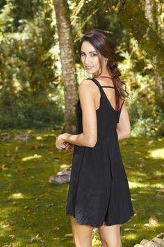 MAPLE °°° @maple_col  /// vestido negro / black dress Cold Shoulder Dress, Black, Dresses, Fashion, Vestidos, Moda, Black People, Fashion Styles, Dress
