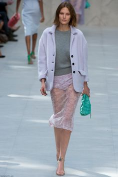 Burberry Prorsum spring 2014 collection at London fashion week. Sorry guys, I would never wear something like this
