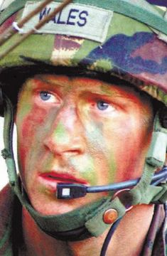 Prince Harry.  He looks like Charles in this photo.