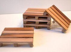DIY Coasters DY Wooden Pallet Coasters DIY Coasters