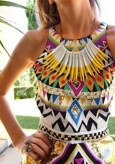 nice tribal dress