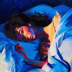 The cover of the Lorde album 'Melodrama,' painted by Sam McKinniss.COURTESY TEAM GALLERY