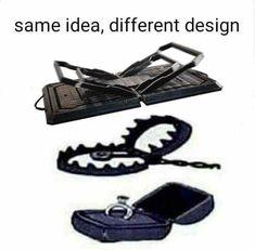 Same Idea Different Design