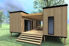 Shipping container home designs and plans with wooden wall ideas | Home Interior & Exterior