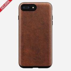 Husa piele iPhone 8 Plus Nomad, Rugged Case, piele Horween importata din SUA! Iphone 8 Plus, Iphone 7, Phone Cases, Leather, Iphone Seven, Phone Case