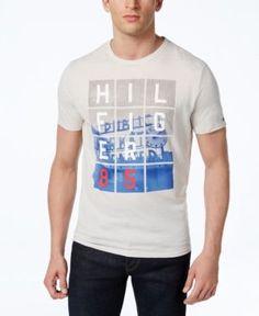 4a55f07052 Tommy Hilfiger Men s Public Market Graphic-Print Logo T-Shirt   Reviews - T- Shirts - Men - Macy s