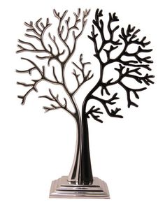 New The Big Silver and Black Tree, jewellery stand, similar to the tree of life