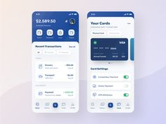 banking app Finance App Visual Exploration by Ahmad Nurfawaid for Sebo on Dribbble Mobile App Design, Android App Design, Mobile App Ui, Interface Design, App Ui Design, Flat Design, Best Ui Design, User Interface, Design Design