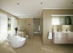 Keuco moderne badkamer met talloze combinatiemogelijkheden zoals kleuren en materialen.