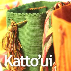 Katto'ui brings you this amazing Wayuu shoulder bags authentic and handmade by artisans from Wayuu tribes in Colombia.  This colourful, unique & bohemian style bag it's a must have; it will make an excellent addition to your wardrobe.  These bags are walking pieces of art and craftsmanship that can now be purchased locally in Mississauga, ON Canada or be shipped all around the world.  Katto'ui support Free Trade products.