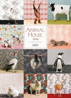 Seien Sie ein weiteres Jahr zu Gast im dekorativen Animal House der kalifornischen Fotografin Catherine Ledner  Staunen  Sie über bemerkenswerte Vier- und Zweibeiner, die vor der Kamera wie  Topmodels posieren Der etwas andere Tierkalender, mehrfach ausgezeichnet  auf der Stuttgarter Kalenderschau
