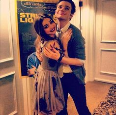 chriscolfer and @Sarah_Hyland ♥ They are so cute ♥