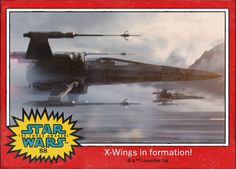 X-wings in formation! Star Wars: The Force Awakens Digital Trading Card #88