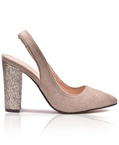 Block Heel - Taupe Sissy Boy, Court Shoes, Block Heels, Ankle Strap, Taupe, Pairs, Lady, Fashion, Beige