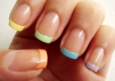 decoracion de uñas coloridas - Buscar con Google