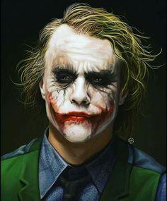 The Joker Heath Ledger Wallpapers Wallpapers) – Art Wallpapers Joker Heath, Heath Ledger Joker Makeup, Le Joker Batman, Der Joker, Joker Art, Joker And Harley Quinn, Joker Ledger, Batman Robin, Joker Dark Knight