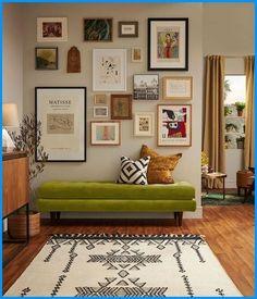 Home Living Room, Living Room Decor, Living Spaces, Bedroom Decor, Living Room Gallery Wall, Cozy Eclectic Living Room, Vintage Modern Living Room, Eclectic Gallery Wall, Gallery Wall Layout