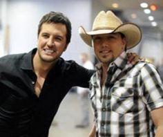 Luke Bryant and Jason Aldean!  Love them!