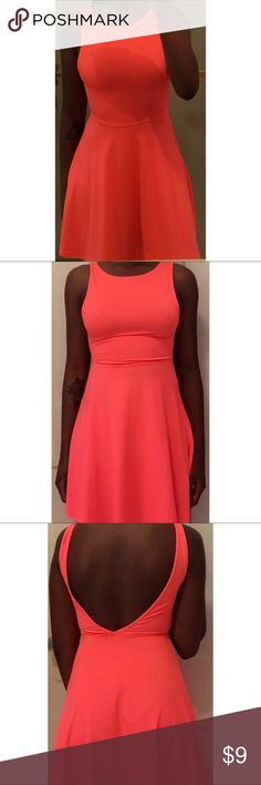 Selling this ‼️😍 NEON PINK/ORANGE DRESS 😍‼️ on Poshmark! My username is: morenatanlinda. #shopmycloset #poshmark #fashion #shopping #style #forsale #Dresses & Skirts