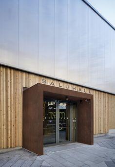 Erfolgsarchitektur - Temporäre Markthalle in Stockholm