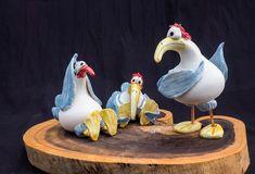 Yoga-Birds - keramik gleichauf