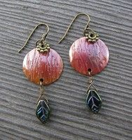 Hugs and Kisses Earrings (Customer Design) - Lima Beads