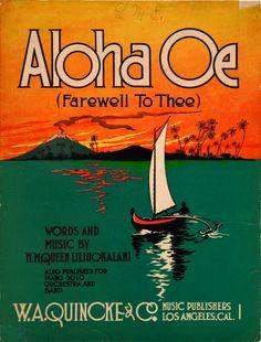 Hawaiian Sheet Music 1912 from UH Manoa Hamilton Library