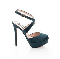 deep green heels, fun for March