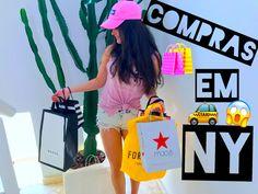 Ooi gentii postei um VÍDEO NOVO❤️no vídeo estou mostrando um pouco das minhas compras que fiz em NY🚕 então vejam lá espero que gostem! não esqueçam de 🚨INSCREVER-SE Link na bio: https://youtu.be/FmqRdIo4jXw