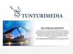 Vieraile sivustollamme http://tunturimedia.fi/3d-visualisointi/ lisätietoja 3D-visualisointi.3D-visualisointi tuli tehokas keino esikatsella ja onnistuneesti vuorovaikutuksessa rakennus ulkoasuja keskuudessa tyyli ammattilaisten, kodin rakentajille ja teknikot mukana prosessissa. Tunturimedia realistinen arkkitehtuurin visualisointi integroi kaikki rakennus tekstuurit ja mitat, käytännössä luoda 3D rakentaminen visualisointi miten rakennus olisi varmasti näyttää post rakentamisen.