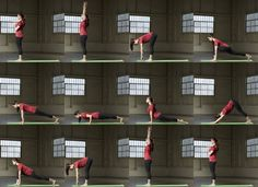 Sun Salutation A http://www.prevention.com/fitness/yoga-poses-that-raise-your-heart-rate/slide/1