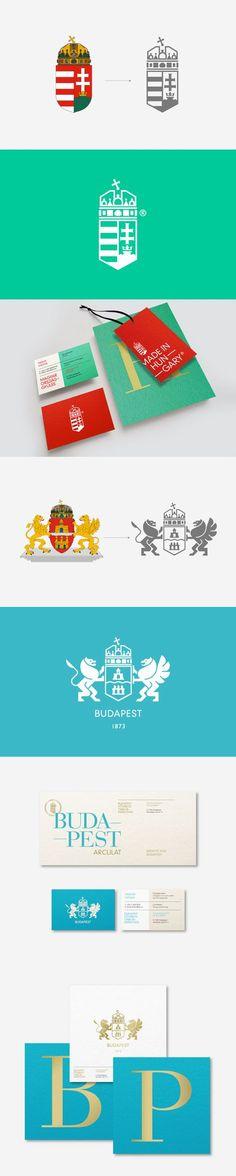 Identity concept for Budapest by Kissmiklos