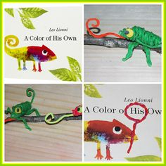 Crafts and Activities to Accompany A Color of His Own by Leo Lionni