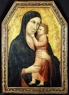Madonna and Child Italian follower of GIOTTO di Bondone, forse diminutivo di…
