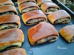 My Dessert, Dessert Recipes, Czech Recipes, Croissants, Tahini, Hot Dog Buns, Pie, Bread, Breakfast