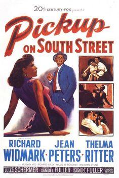 """[1953] Noir con un marcado mensaje anticomunista. Una película que se deja ver sin ser ninguna maravilla, gracias a la presencia de Richard Widmark con su típica sonrisa cínica y una atractiva Jean Peters que está francamente bien en su papel. Algún momento """"Pure Noir"""" en las escenas del muelle. Un 7/10."""