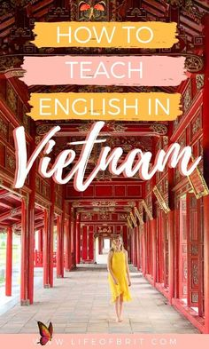 How To Teach English in Vietnam Teaching English in Vietnam is a great way to travel and explore Asia - all while earning a great income! Learn more about how to start teaching abroad and having an adventure of a lifetime! Only at lifeofbrit.com #TeachEnglishAbroad #VietnamTravelGuide<br> Want to teach English in Vietnam but don't know where to start? We share everything you need to know about teaching in Vietnam in this ultimate guide! Luang Prabang, Vietnam Travel Guide, Asia Travel, Ways To Travel, Travel Tips, Travelling Tips, Travel Articles, Amazing Destinations, Travel Destinations